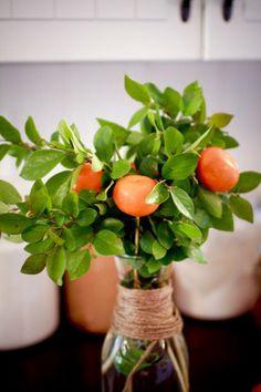 Easy & Beautiful: Fruit + Floral Arrangements