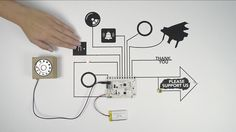 Great interactive tech kit for kids and adults by Bare Conductive: The Touch Board