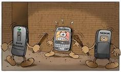 Oh Blackberry, how you always get the short end of the cell phone deal. Phone Jokes, Cell Phone Deals, Blackberry, Sony, Bb, Phone Pranks, Blackberries, Rich Brunette