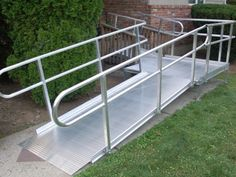 www.PatriotMobilityInc.com has a variety of National Ramp brand aluminum wheelchair ramps. #wheelchair #ramps #accessibility