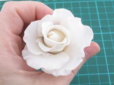 Frilly Rose Tutorial - Sugar Art