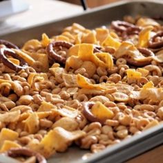 Cheerios Snack Mix by tramplingrose