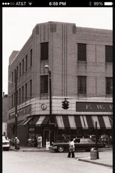 F W Woolworth store. Madison Ave, Covington Kentucky. So loved going there as a child.