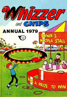 I used to love Whizzer and Chips and Buster. Buying cheap annuals in the January Sales was a real highlight of the year! Old Comics, Vintage Comics, Vintage Books, Funny Comics, 1970s Childhood, Childhood Memories, Childrens Christmas, Childrens Books, Summer Books