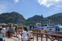 Harbour of Koh phi phi
