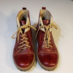 eb342405682c1 Women Lace Up Combat Ankle Boots Hidden Heels Suede Leather Plus Size Lady  Shoes