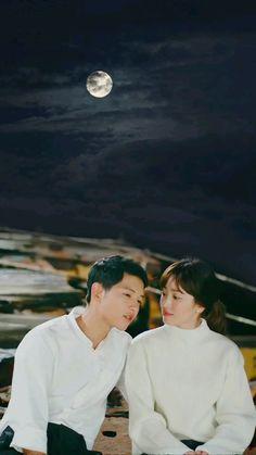 Song Joong-ki and Song Hye-kyo Descendants of the sun Song Joong-ki and Song Hye-kyo Descendants of the sun Korean Drama Series, Korean Drama Quotes, Song Joong Ki Dots, Desendents Of The Sun, Most Handsome Korean Actors, W Kdrama, Song Joong Ki Birthday, Soon Joong Ki, Sun Song