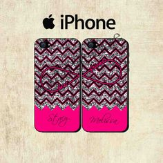 Love this!!!  https://www.etsy.com/listing/164249470/best-friends-iphone-case-iphone-5-case