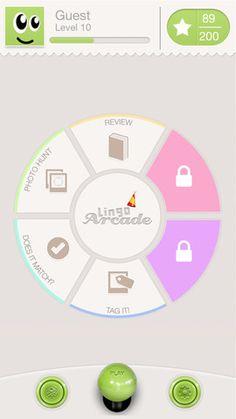Lingo Arcade - a great iOS app for learning Spanish Teaching Spanish, Learn Spanish, French Language, Foreign Language, Learn French, Ios App, Mobile App, Arcade, Homeschool