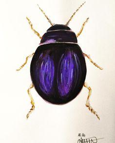 Sieh dir dieses Instagram-Foto von @annikaangeliqua an • Gefällt 51 Mal Art by annikaangeliqua aquarelle purple watercolor