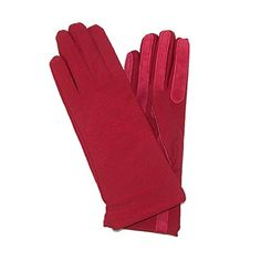 Isotoner Womens Knit Lined Spandex Winter Glove, Really Red * Want additional info? Click on the image.