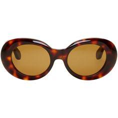 Shop Acne Studios Tortoiseshell Mustang Sunglasses from stores. Cheap Sunglasses, Cat Eye Sunglasses, Round Sunglasses, Mirrored Sunglasses, Round Tortoiseshell Glasses, Sunglasses Women Designer, Tortoise Shell Sunglasses, Acne Studios, Eyewear