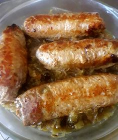 B Food, Sausage, Meat, Pork, Food And Drink, Cooking Recipes, Baking, Vegetables, Polish Cuisine