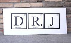 Buchstaben aus dem Periodensystem