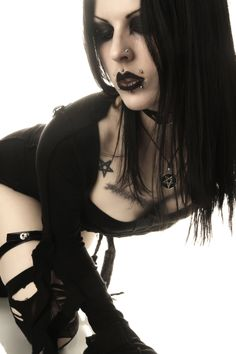 #Goth girl cold Gothic Fashion   goth gothic style fashion girl women https://www.facebook.com/alternativestylepolska