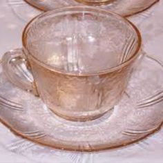 American Sweetheart Pink Depression Glass