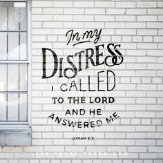 """Jonah's Prayer 