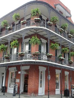 French Quarter...One of my favorite places to be , especially during Fall & Christmas.