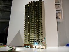 quinntopia - An N Scale blog: September 2010......N scale apartment building