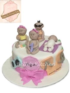 Babies Cake By Belle's Kitchen, To Order Contact Our WA: 081294055786, Line: Bellekitchen And Don't Forget To Follow Our Instagram @belle_kitchen