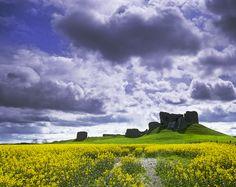 Duffus Castle, Moray, Scotland