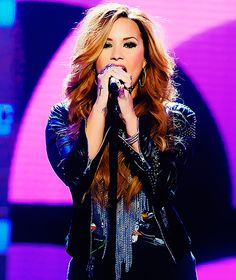 Demi Lovato, my freaking idol. She's amazing!