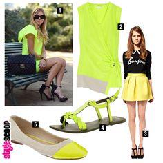 Shop The Look – Neon