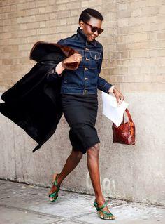 oroma-elewa-street-style-denim-jacket-skirt-shoes