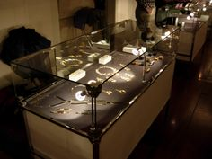 Marina Skia Jewellery stand at Somerset House during Treasure 2013