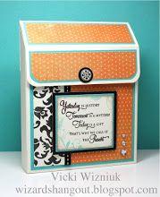 A2 Slanted Card Box Tutorial