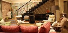 Drama interior-it's okay, it's love peeking the interior ~ -INSIDE Korea JoongAng Daily It's Okay That's Love, Its Okay, Morocco, Tile, Korea, Drama, Stairs, Interior, Home Decor
