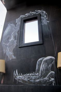 Miami - Design District: ROA and Ben Eine's Living Room by wallyg, via Flickr