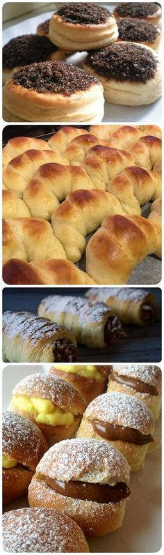 This Pin was discovered by Lis Argentine Recipes, Argentina Food, Good Food, Yummy Food, Pan Dulce, Sweet Bread, Sweet Recipes, Donuts, Sweet Tooth