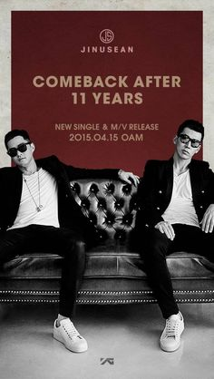 Jinusean announce their first comeback in 11 years with details through a teaser image   allkpop.com