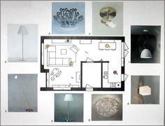 Verlichtingsplan woonkamer Hoogkarspel