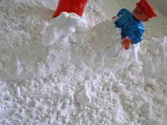Jak zrobić sztuczny śnieg - YouTube