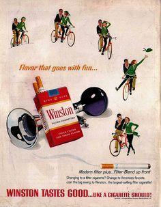 Winston Cigarettes ad