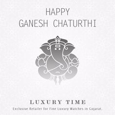 Happy Ganesh Chaturthi to all!!! #happyganeshchaturthi #luxurytime #gujarat