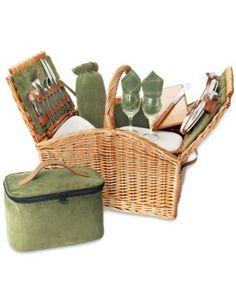 Picnic Time Somerset Picnic Basket | macys.com