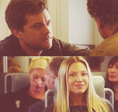 """""""I want to understand what you're going through, and I want you to understand what I'm going through."""" Peter and Olivia #Fringe"""