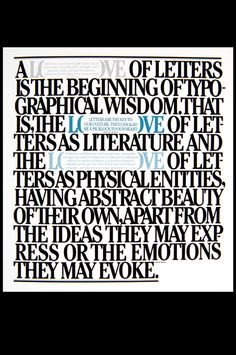 A tribute to Herb Lubalin, an influential graphic designer of the 20th century.