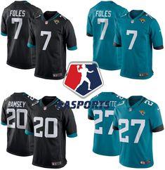 c491d12503bee Camisa Jacksonville Jaguars - 5 Blake Bortles - 20 Jalen Ramsey - 27  Leonard Fournette -