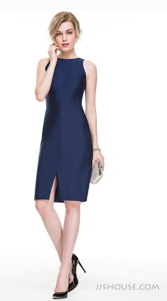 Simple but chic, this dress can be worn as work outfits even. #JJsHouse