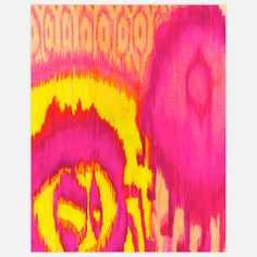 I want this. Dahlia Ikat Print now featured on Fab.