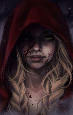 Red Riding Hood by bewareitbites.deviantart.com on @deviantART
