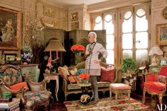 Iris Apfel's Three-Bedroom Manhattan Apartment Photos | Architectural Digest