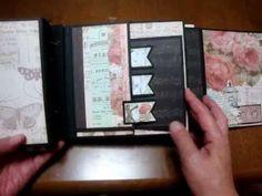 "Scrapbooking ""London Market mini album"""