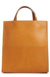 Madewell The Passenger Convertible Leather Tote available at #Nordstrom