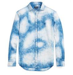 Linen: Indigo Dye, tropical style by Ralph Lauren