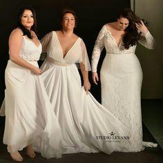 Those perfect #curvy brides!